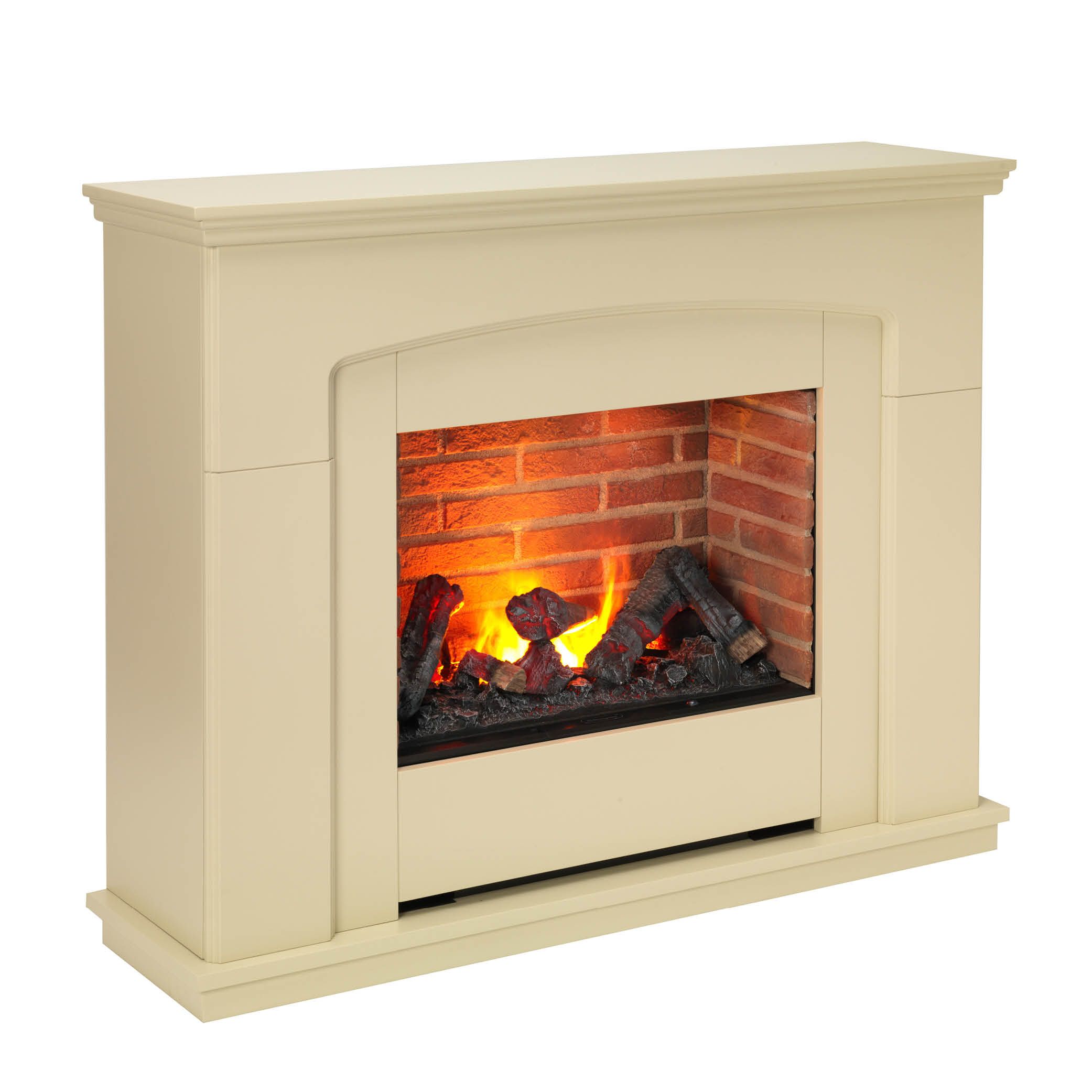 Dimplex Alameda 2kw Optimyst Electric Fire With Mantle Zink